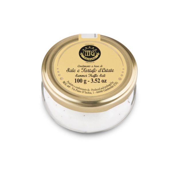 Summer truffle salt