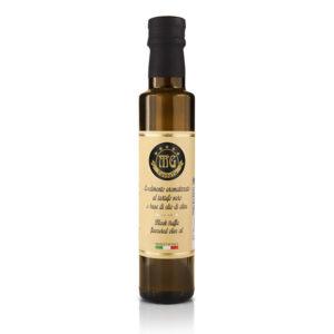 olio di oliva al tartufo nero