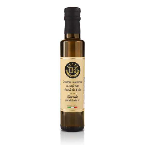 black truffle flavoured olive oil